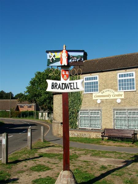 Bradwell Village Sign