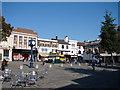 TL1829 : Market Place, Hitchin by John Lucas