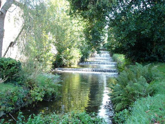 Weir at Glynllifon Country Park