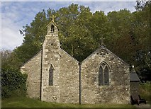 SW8441 : Old Kea church by Philip White