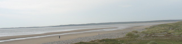 Looking North Along the Beach