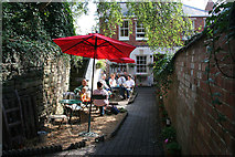 SK8608 : Castle Cottage Cafe, Oakham by Kate Jewell