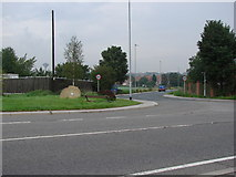 SE4613 : Upton, Common Lane, junction with the A638 by Bill Henderson