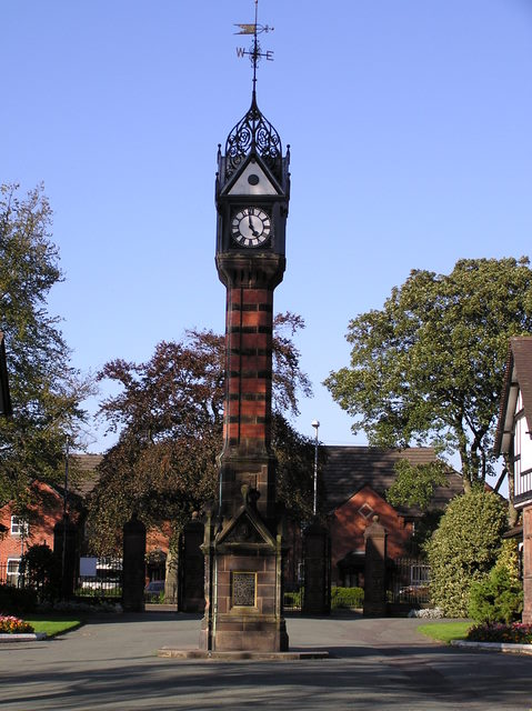 Clock Tower, Queen's Park, Crewe