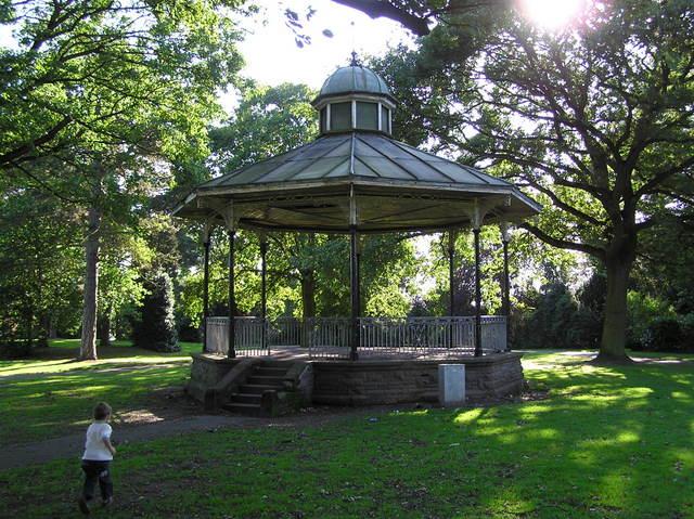Bandstand, Queen's Park, Crewe