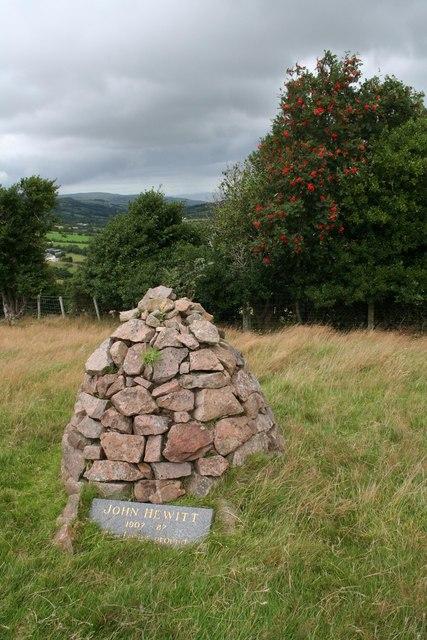 John Hewitt's Cairn