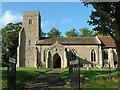 TM0562 : Old Newton Church. by Keith Evans