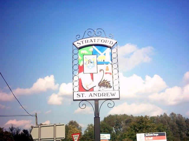 Stratford St.Andrew Village Sign