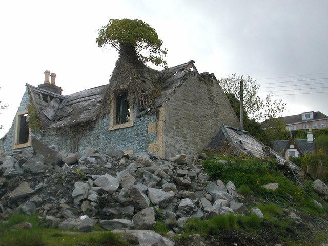 Tree house, Tarbert, Argyll.