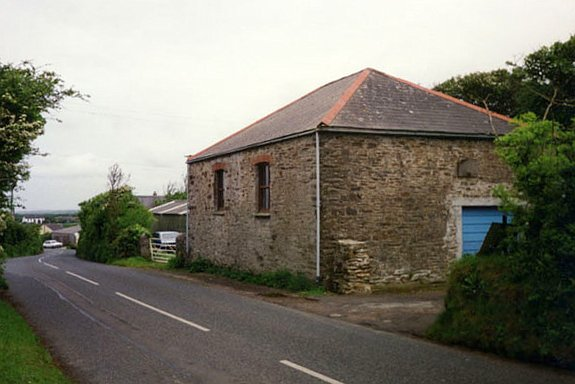 An Old Methodist Chapel on Trevellas Downs 1993