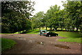 NZ1658 : Car Park, Rowlands Gill by Crispin Purdye