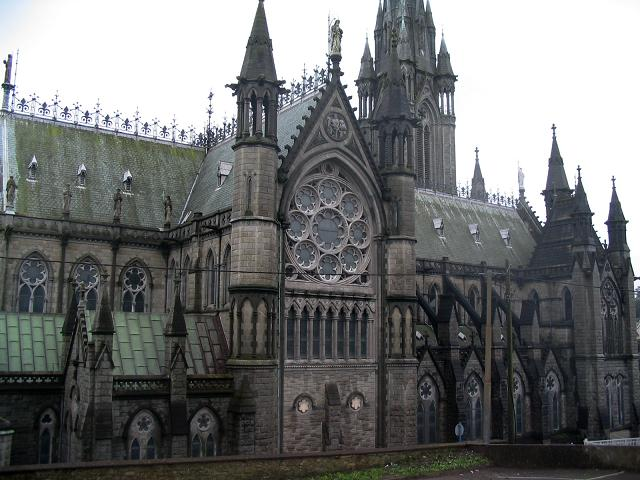 Rear of cathedral, An Cobh