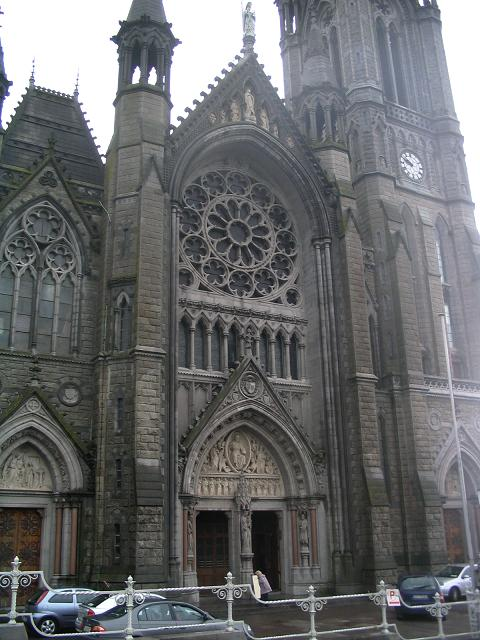 Main entrance of Cobh cathedral