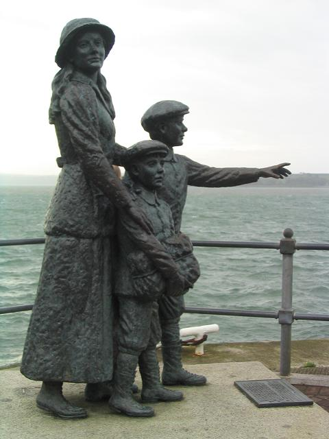 Statue Of Annie Moore 169 Peter Craine Geograph Ireland