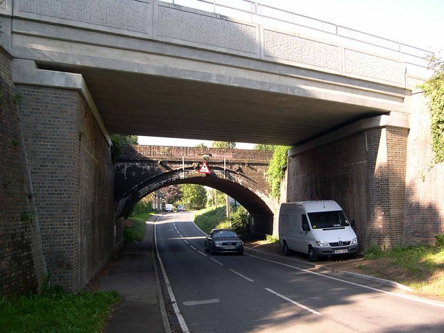 Sharnbrook - Railway Bridges in Mill Road