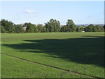 SJ9297 : Another view of park in Audenshaw by Peter Craine