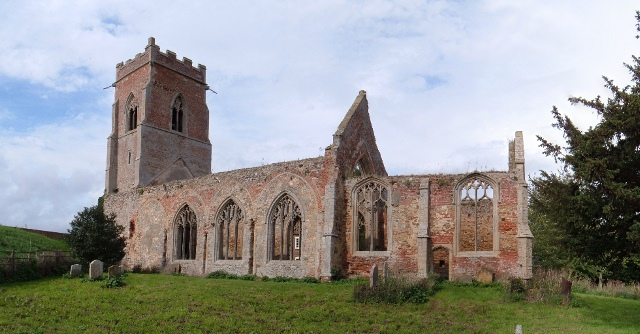 Wiggenhall St Peter church ruins