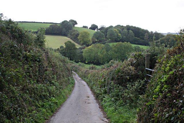 Valley near Nethershaugh Farm