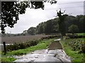 SU6513 : Flooded road, south of Hambledon by Chris Henley