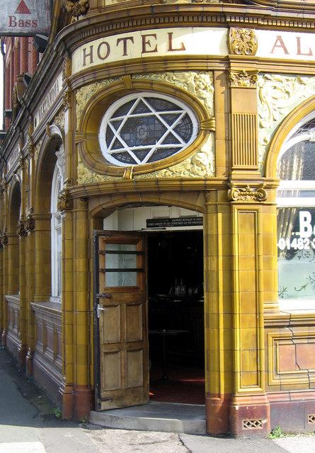 Doorway - Alexandra Hotel