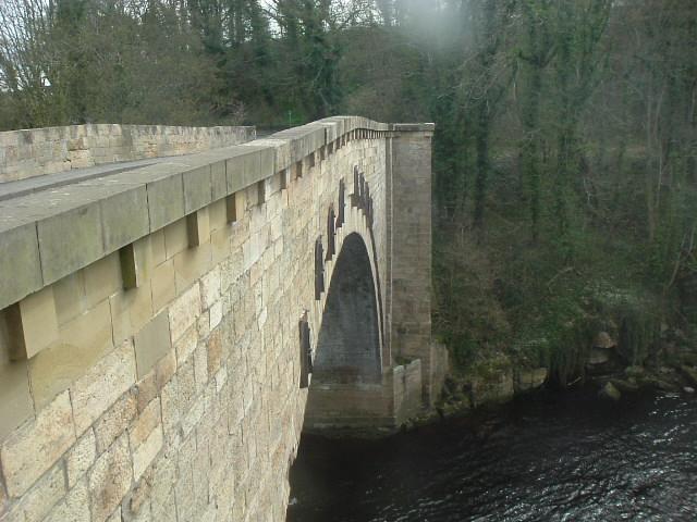 Winston bridge over the River Tees