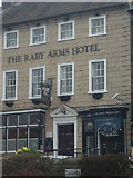 NZ0516 : The Raby Arms Hotel by Stanley Howe