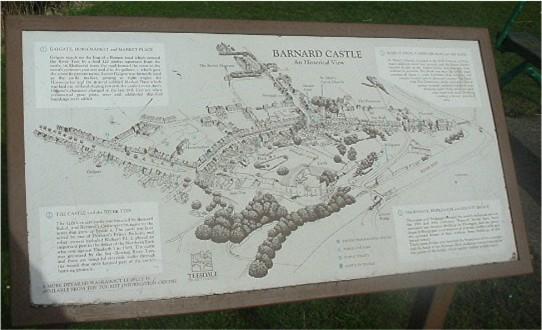 Notice about the castle
