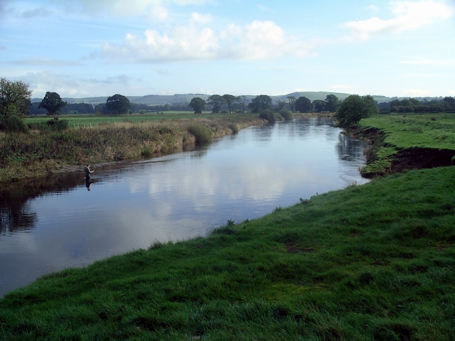 Fishing the River Annan