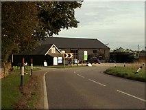 TL6829 : Ashlyns Organic Farm Shop, southeast of Great Bardfield by Robert Edwards
