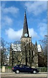 NZ2914 : St Cuthbert's church by Stanley Howe