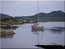 NB9907 : The Anchorage, Tanera Mor by Dave Simpson