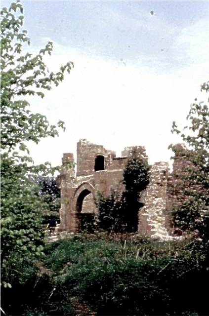 Hardwick Park 'Castle Ruins'