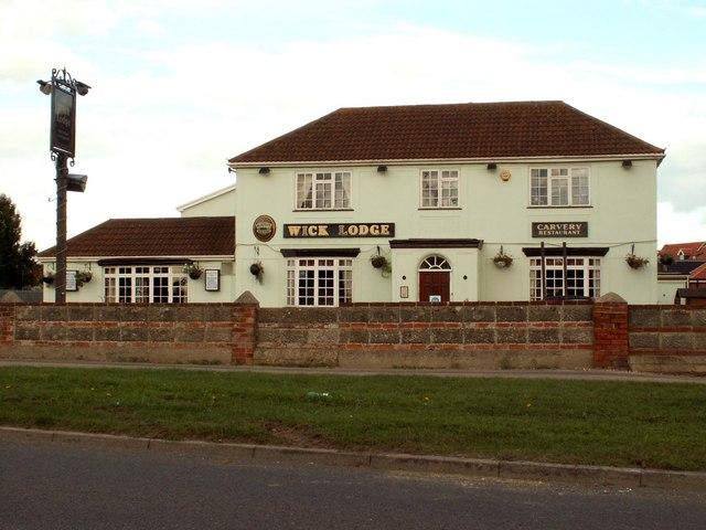 'Wick Lodge' public house, Jaywick, Essex