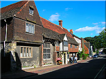 TQ4109 : Anne of Cleves House, Southover High Street by Simon Carey