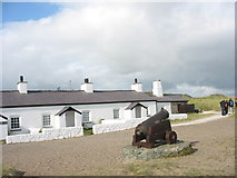 SH3862 : Restored Pilots' Cottages, Llanddwyn by Eric Jones