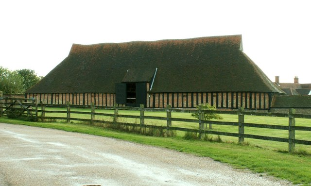The wheat barn at Cressing Temple, Essex