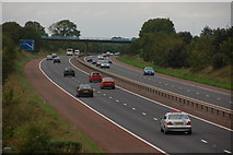 J2087 : The M2 near Donegore, Co Antrim by Albert Bridge