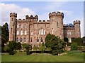 SJ5351 : Cholmondeley Castle by Peter Craine