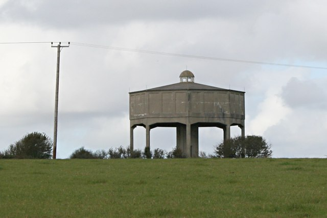 Water Tower near Tregarton