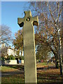 NZ1716 : Monumental Cross with trees by Stanley Howe