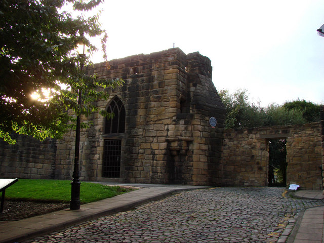 Herber Tower, part of the old City Wall, Newcastle upon Tyne.