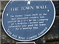 NZ2464 : Herber Tower Plaque, Newcastle upon Tyne by Bill Henderson