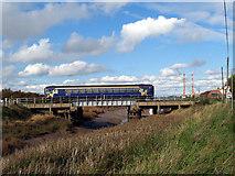 TA0623 : Barrow Haven Rail Bridge by David Wright