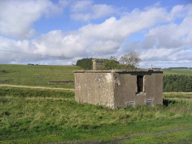 Disused Military Camp Building at Stobs