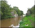 SJ6735 : Dismantled railway bridge, Shropshire Union Canal by Espresso Addict