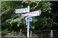 NY6043 : Signpost near Renwick by Stephen Pearce