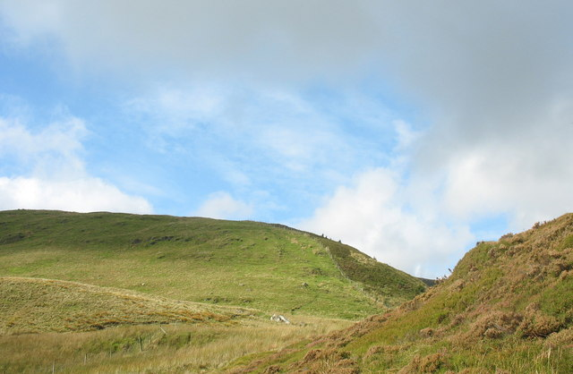 The End of the SE ridge of Trum y Ddysgl