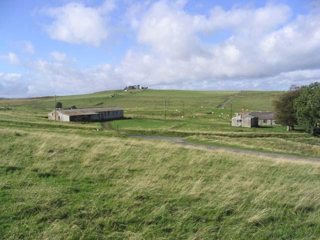 Old huts near Barns