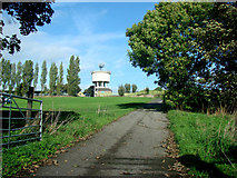 SE4422 : Pontefract Park Water Tower by Bill Henderson