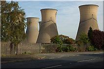 SK3028 : Power Station entrance (2) by Phil Myott
